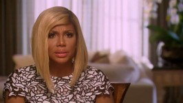 Tamar is shocked when she sees her stalker at a family event