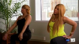 Remember Tamar pregnant? WE do! Watch Tamar Throw Back!