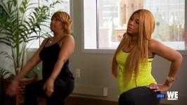 Remember Tamar pregnant? WE do! Watch Tamar Throw Back!