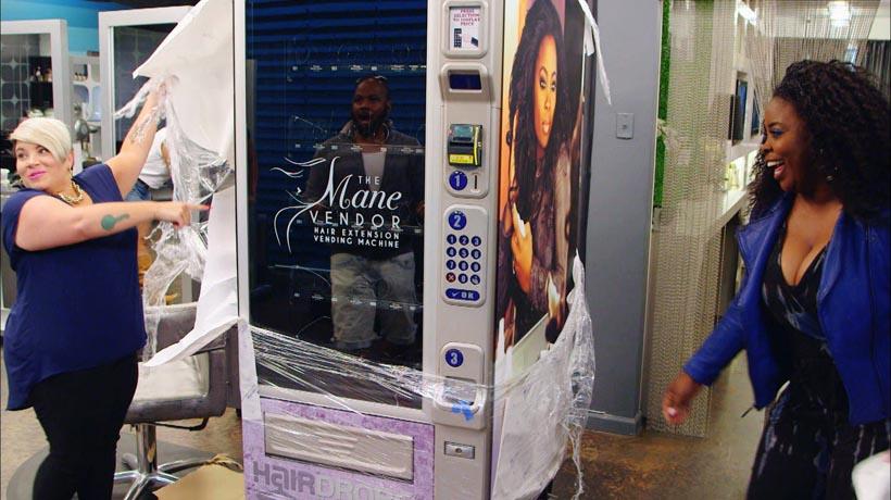 kimble hair vending machine
