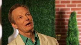 Bill Irwin talks about his portrayal of the man with the evil master plan, Enos