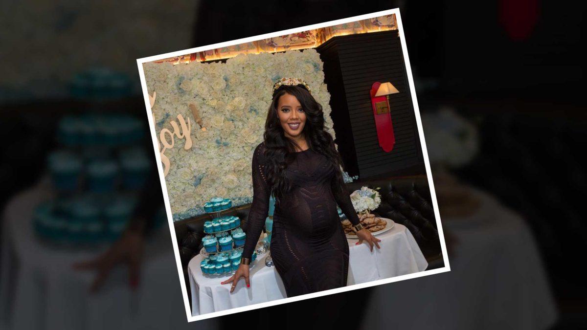 Angela Simmons Has A U0027Sweetu0027 Baby Shower