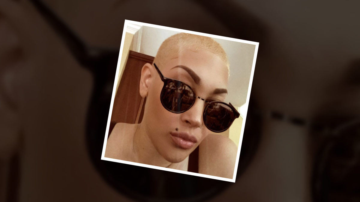 She shaved her head for love