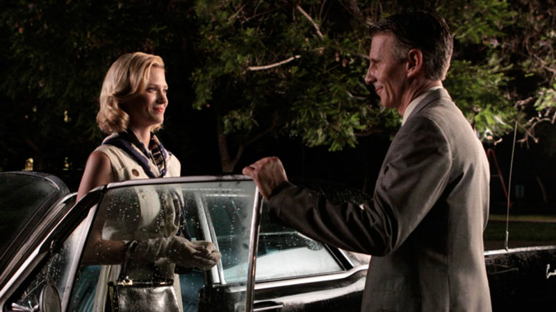 Talked About Scene Episode 308 Mad Men: Henry Francis Kisses Betty