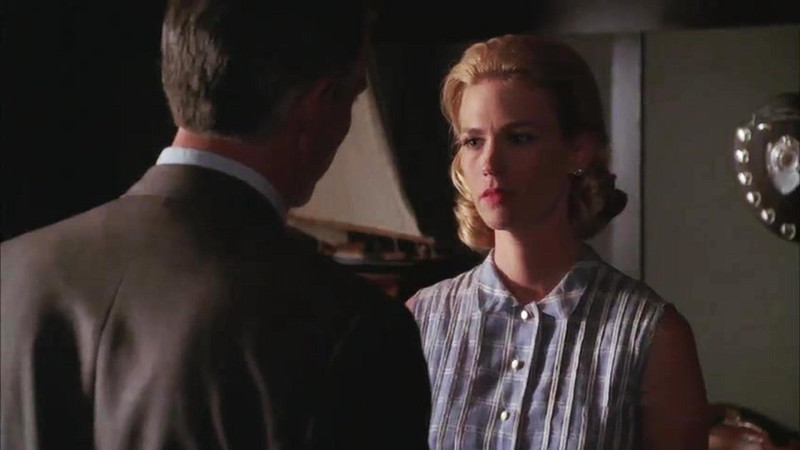 Talked About Scen Episode 309 Mad Men: Betty Contemplates an Affair