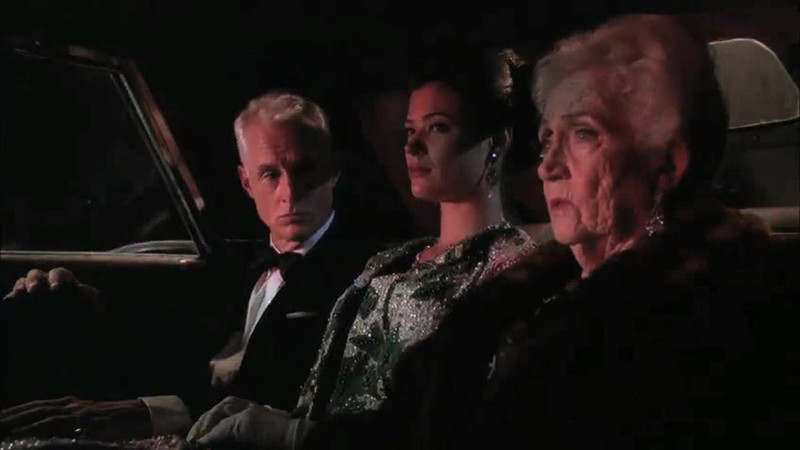 Talked About Scene Episode 310 Mad Men: Roger Sterling's Mother and His New Wife