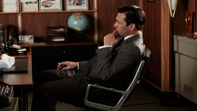 Inside Episode 310 Mad Men: The Color Blue