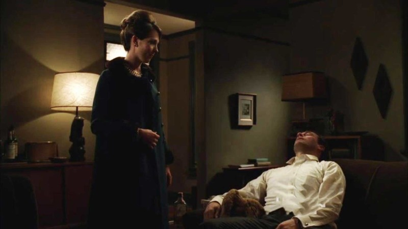Talked About Scene Episode 402 Mad Men: Don's Secretary Does Him a Favor