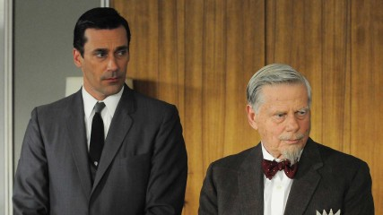 Talked About Scene Episode 405 Mad Men: Roger Bears A Grudge