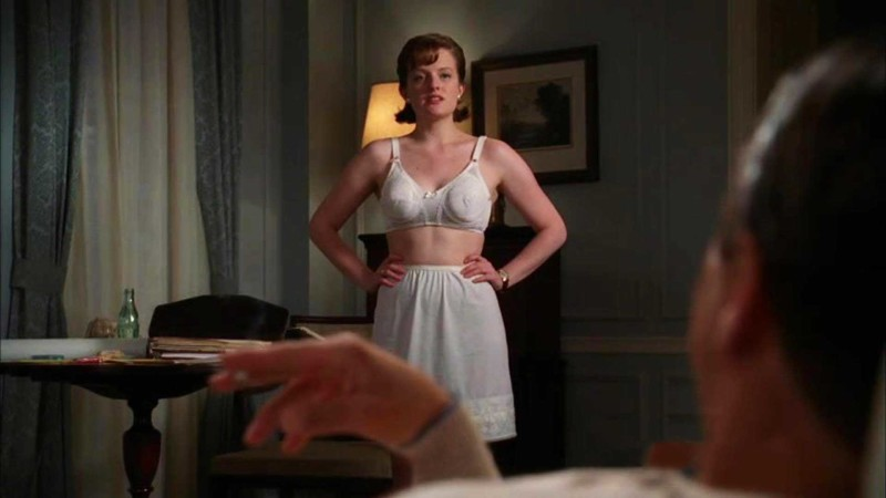 Talked About Scene Episode 406 Mad Men: Peggy Bares All