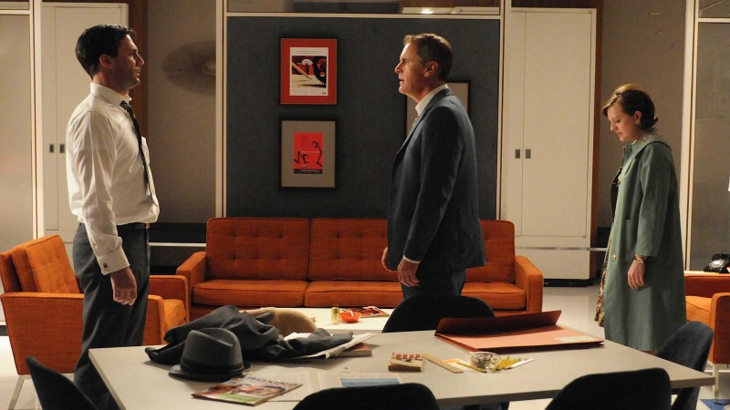 Talked About Scene Episode 407 Mad Men: Two Drunken Ad Men Fight