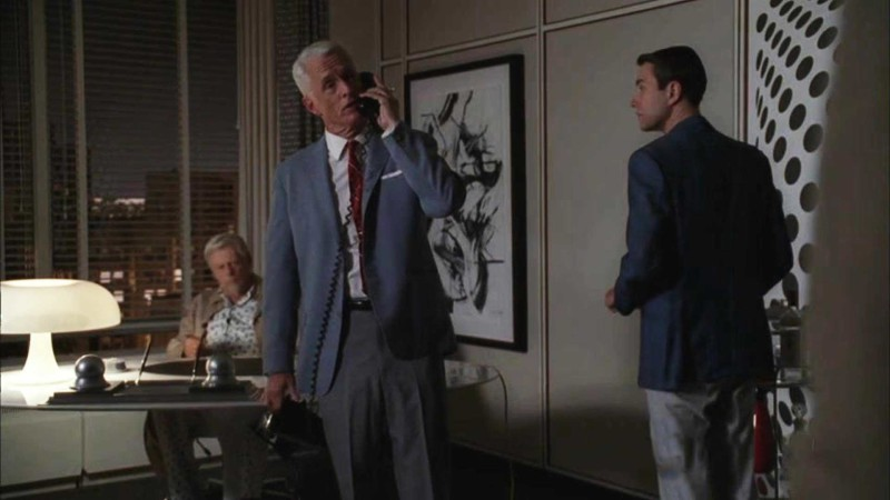Talked About Scene Episode 411 Mad Men: Roger Confronts Lee