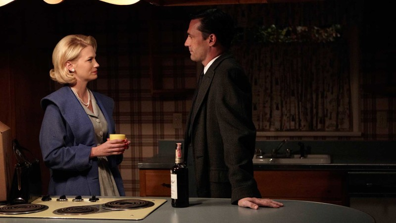 Talked About Scene Episode 413 Mad Men: Don Breaks the News to Betty