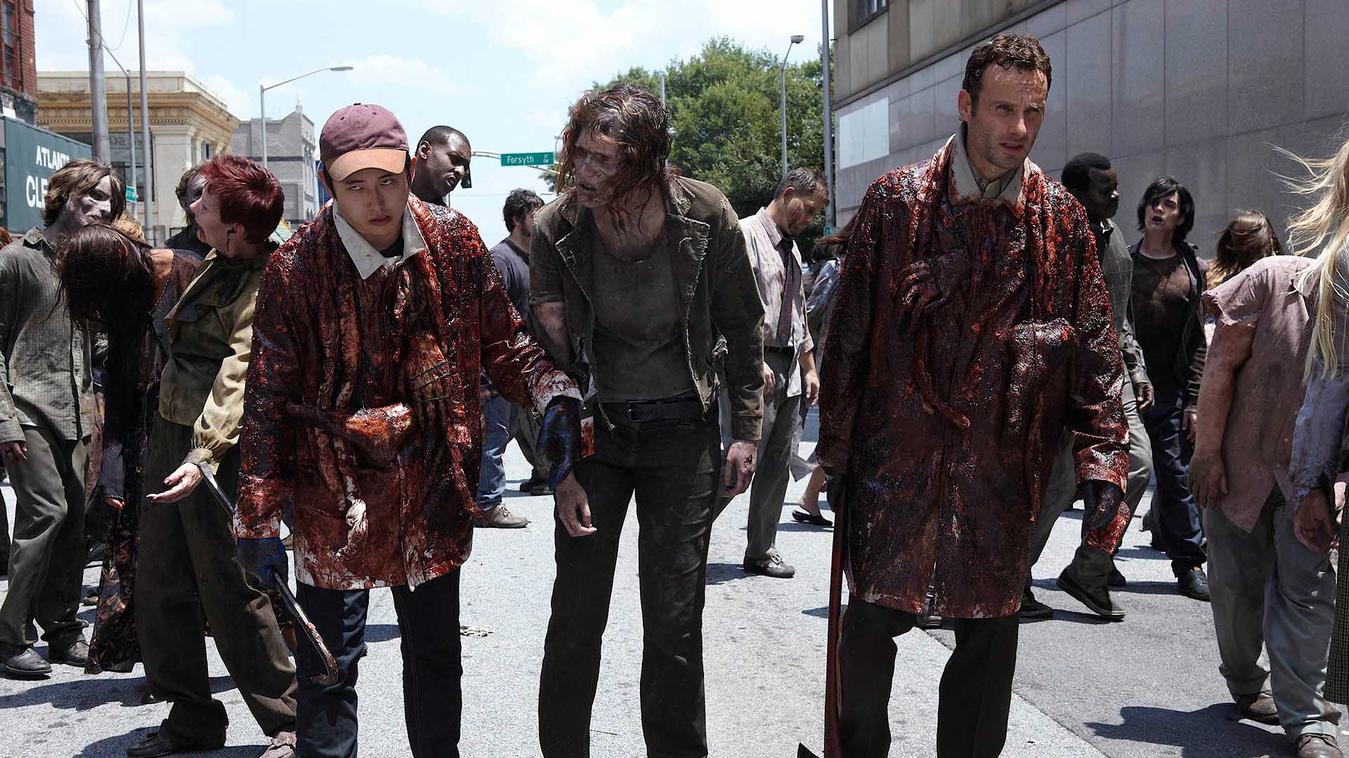 Nonton The Walking Dead Season 1 2 3 4 5 6 Complete