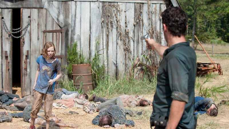 Image result for the walking dead season 2 barn