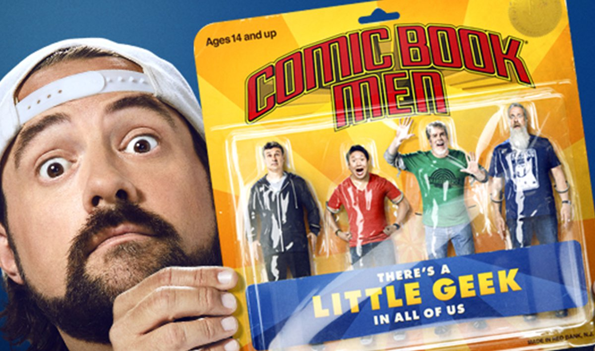 New Poster and Release Date Revealed for Season 7 of <em>Comic Book Men</em>