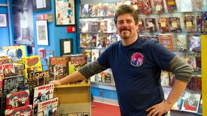 Extended Scene Episode 106, Happy Endings: Comic Book Men
