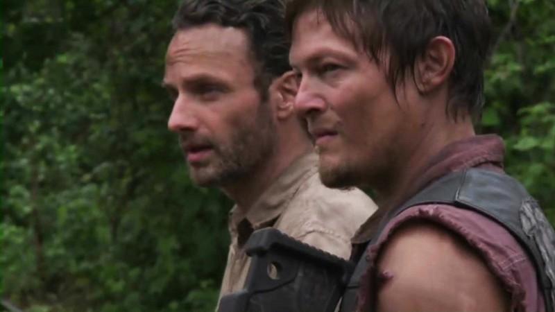 Cast on the Set of Season 3: Inside The Walking Dead