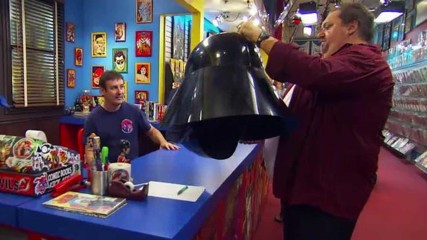 Talked About Scenes Episode 201 Comic Book Men: The Darth Vader Helmet