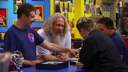 Talked About Scenes Episode 204 Comic Book Men: Presidential Monsters