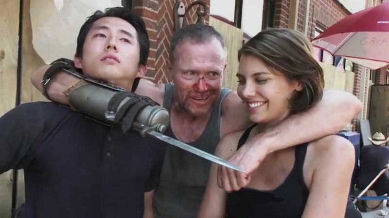 (CONTAINS SPOILERS) The Making of Episode 306, Hounded: Inside The Walking Dead