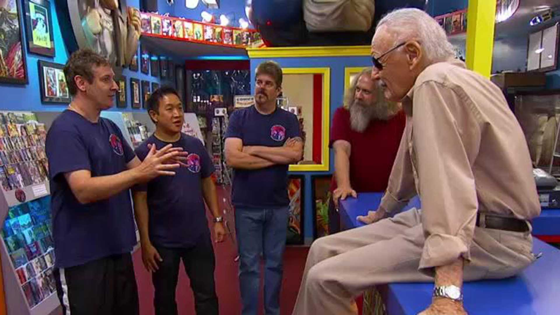 Talked About Scenes Episode 208 Comic Book Men: Stan Lee Visits The Stash