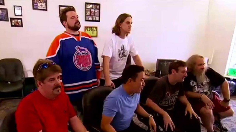 Talked About Scene Episode 209 Comic Book Men: Jay and Silent Bob Fight