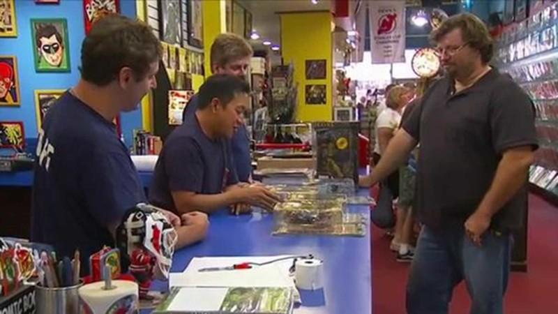 Talked About Scene Episode 213 Comic Book Men: Stash Wars