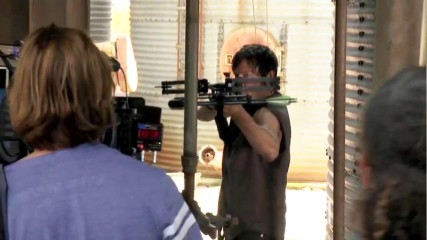 (SPOILERS) The Making of Episode 313 Arrow on the Doorpost: Inside The Walking Dead