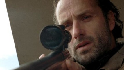 On Set With Andrew Lincoln: Battling His Beard: The Walking Dead