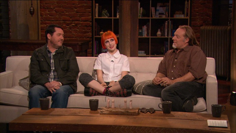 Greg Nicotero, Hayley Williams, and Doug Benson on Three Questions: Episode 402: Talking Dead