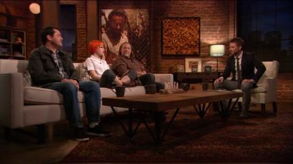 Greg Nicotero, Hayley Williams, and Doug Benson on Carol: Episode 402: Talking Dead