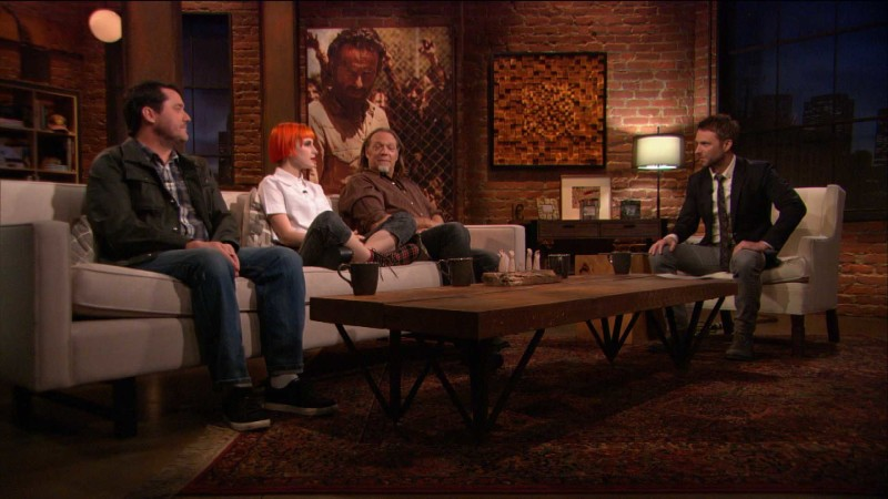 Greg Nicotero, Hayley Williams, and Doug Benson on Carol: Episode 402: Talking Dead