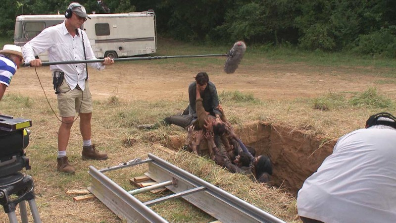 (SPOILERS) Making of Episode 407: The Walking Dead: Dead Weight