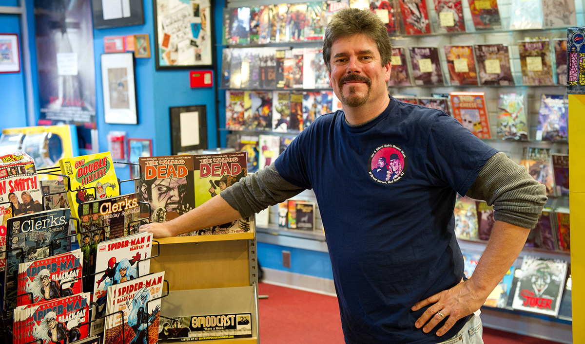 <em>Comic Book Men</em> Q&#038;A &#8211; Michael Zapcic