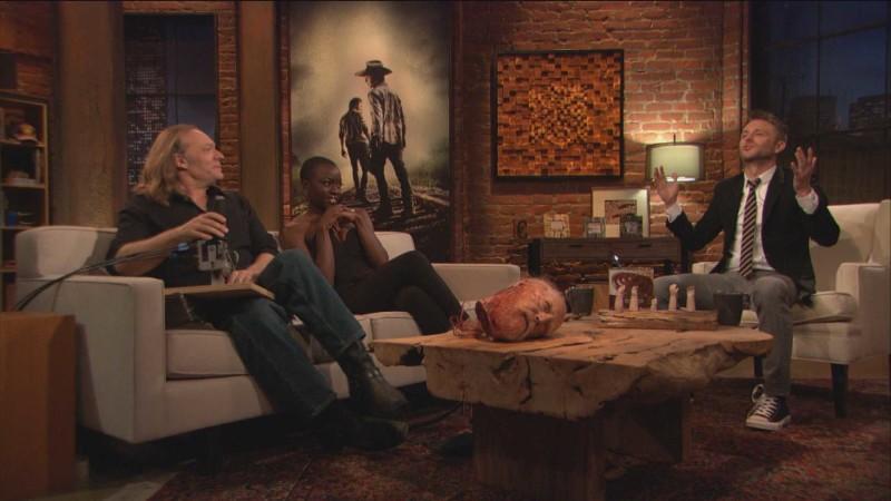 Highlights: Episode 409: Talking Dead: Greg Nicotero on Hershel's Decapitated Head