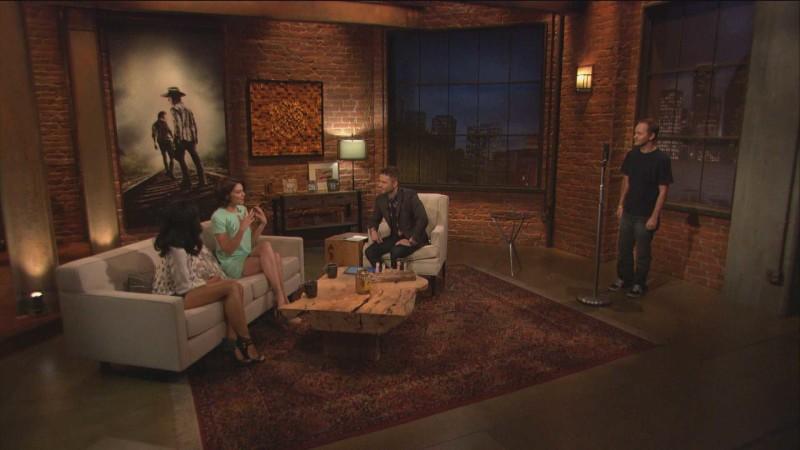 Highlights: Episode 413: Talking Dead: Lauren Cohan on Beth