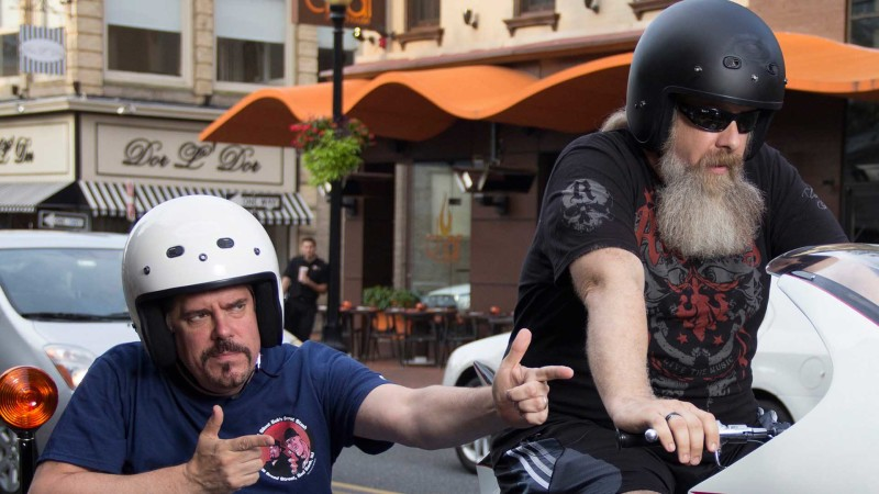 Talked About Scene: Episode 314: Comic Book Men: Batcycle on Broad