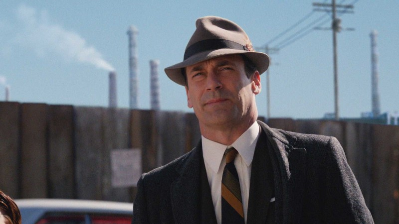 Then and Now: Don Draper: Mad Men