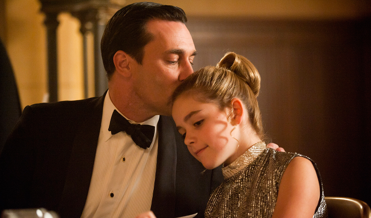 Jon Hamm, Matt Weiner Speak With <em>LA Times</em>; Kiernan Shipka Talks Sally