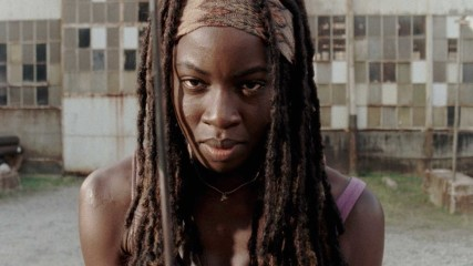 On Set With Danai Gurira: The Michonne Action Figure: The Walking Dead
