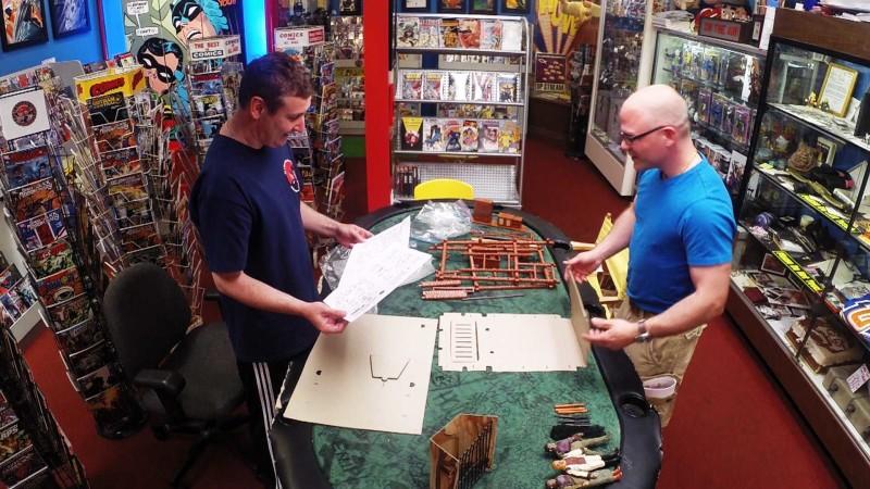 Talked About Scene: Episode 402: Comic Book Men: Walt's Treehouse