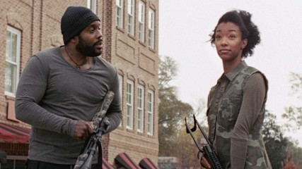 On Set With Sonequa Martin-Green: Having an On-Screen Brother: The Walking Dead