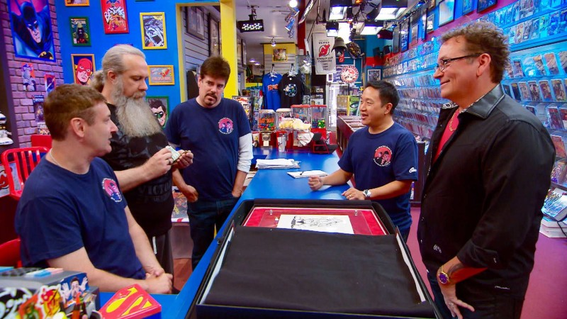 Talked About Scene: Episode 407: Comic Book Men: Turtle Time