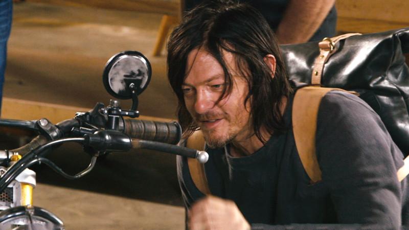 Daryl's New Bike: The Walking Dead