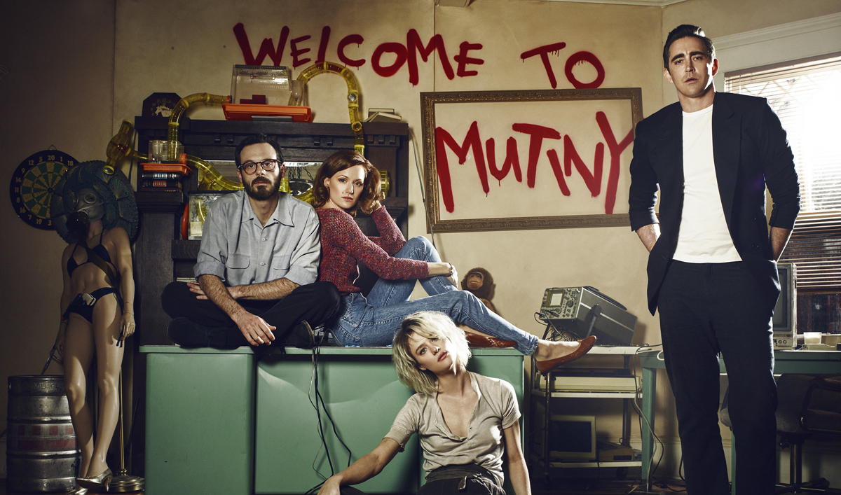First-Look Photo of the Cast From <em>Halt and Catch Fire</em> Season 2