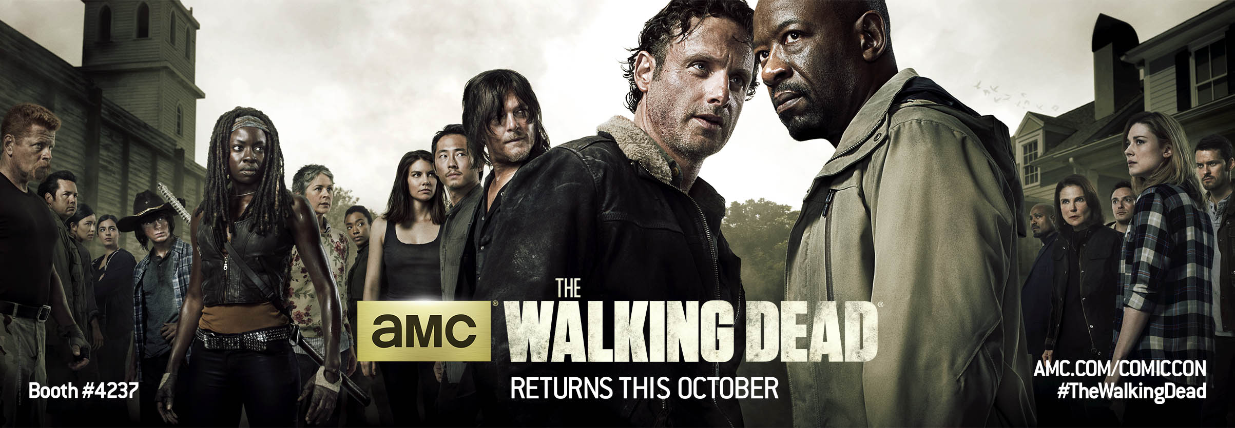 blogs the walking dead the walking dead 2015 comic con poster revealed amc. Black Bedroom Furniture Sets. Home Design Ideas