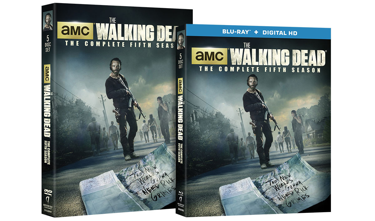 <em>The Walking Dead</em>: The Complete Fifth Season Now Available on DVD and Blu-Ray