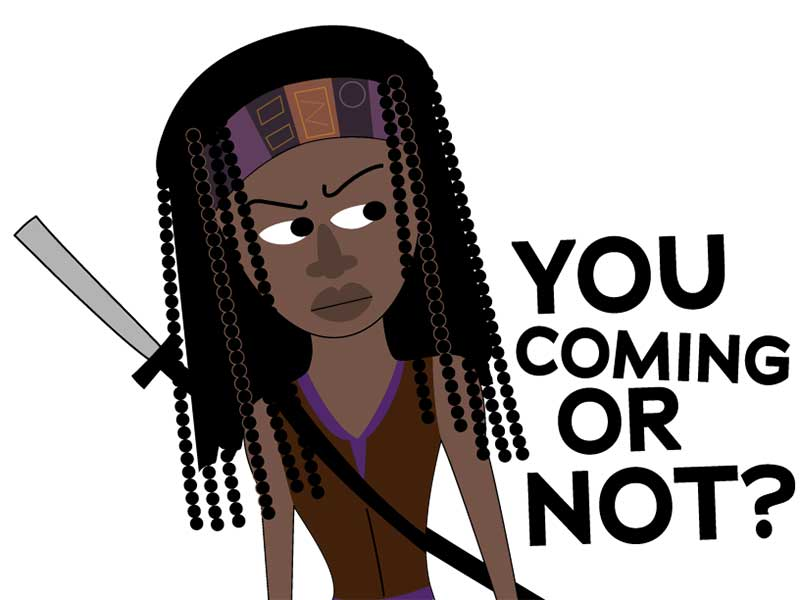 the-walking-dead-stickers-michonne-800×600