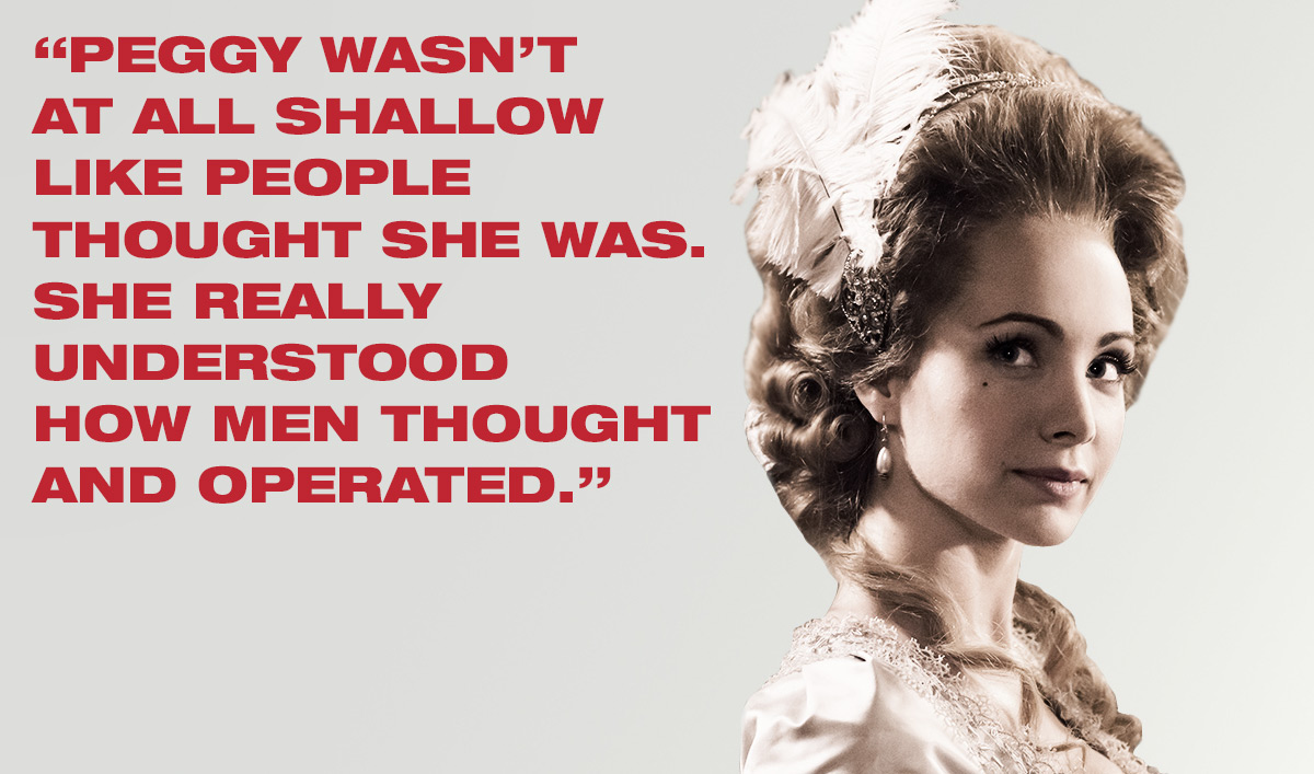 <em>TURN: Washington's Spies</em> Q&A – Ksenia Solo (Peggy Shippen)